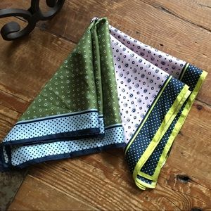 J. Crew Set Of Two Silk Squares